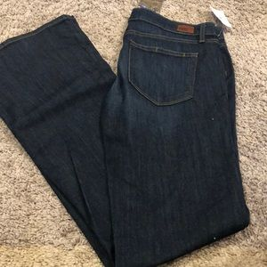 New Paige bootcut jeans